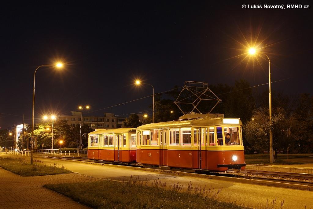 Fotogalerie » KPS Brno 4MT2 134 | KPS Brno vv4 313 | Brno | Střed | Renneská třída