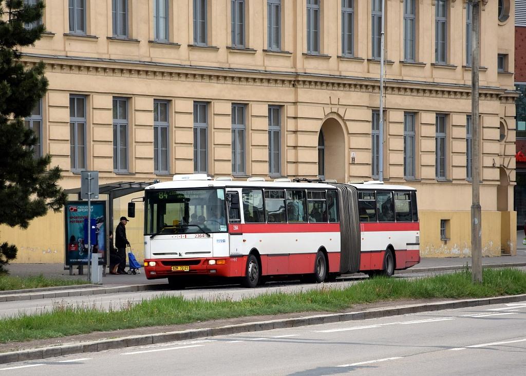 Fotogalerie » Karosa B961.1970 BZM 72-21 2364 | Brno | Trnitá | Opuštěná | Autobusové nádraží