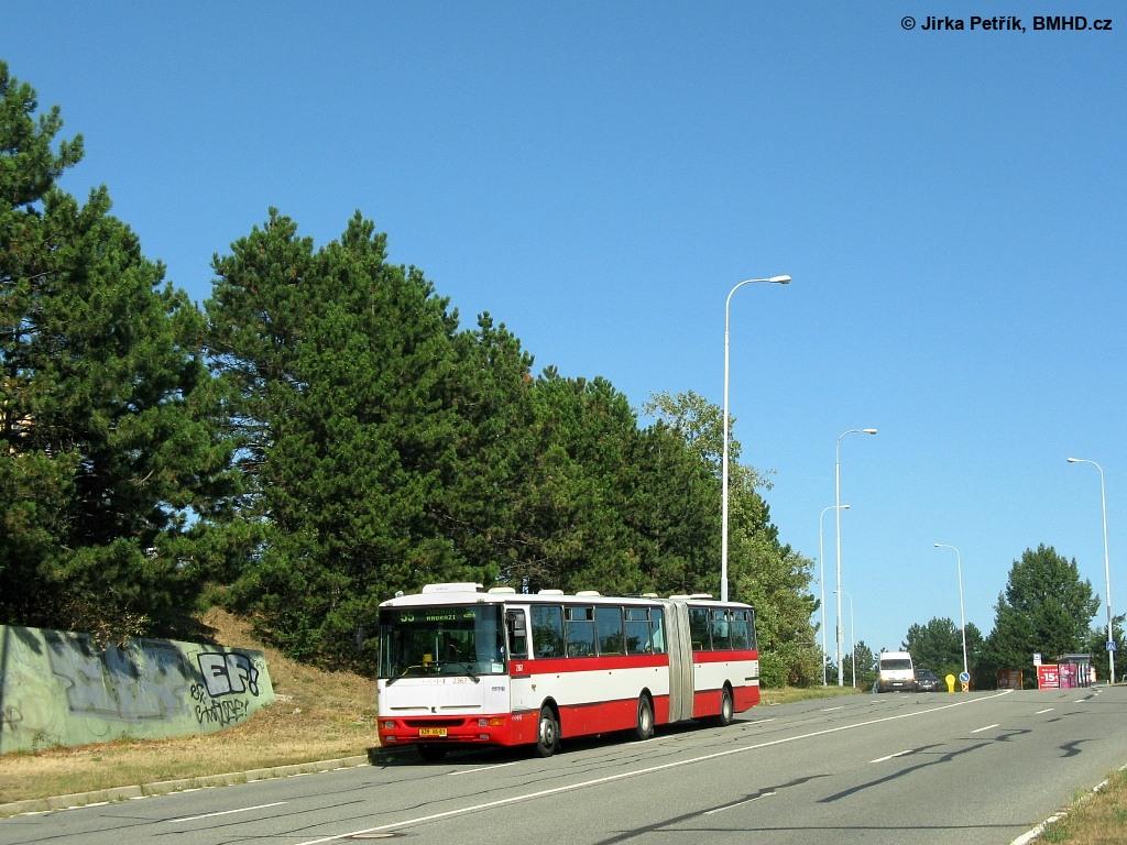 Fotogalerie » Karosa B961.1970 BZM 86-61 2367 | Brno | Líšeň | Novolíšeňská