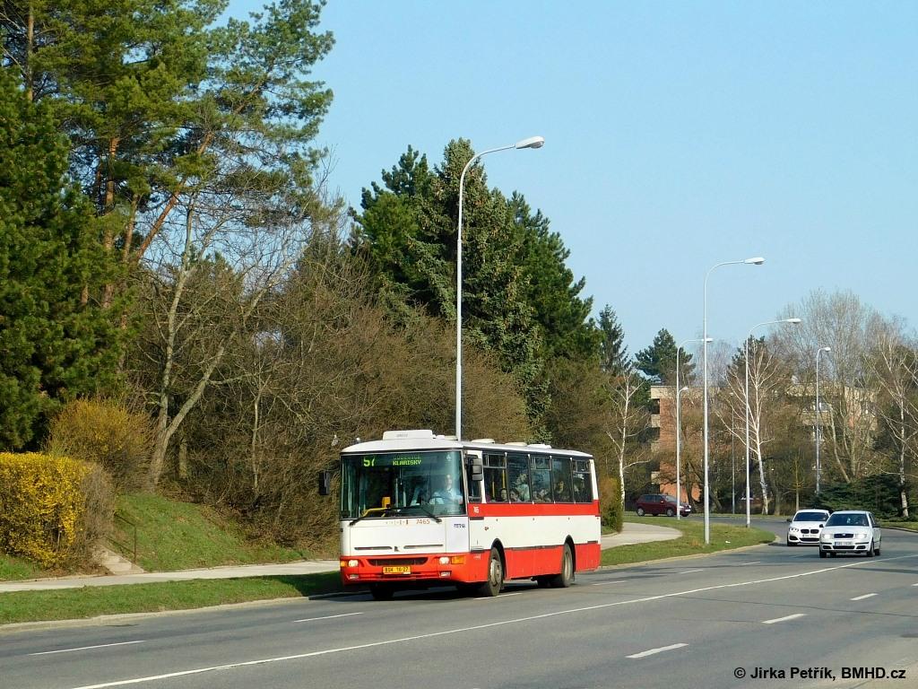 Fotogalerie » Karosa B931E.1707 BSH 16-27 7465 | Brno | Lesná | Okružní