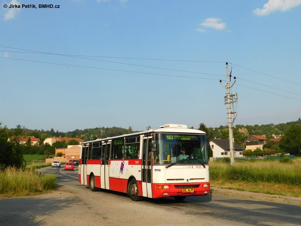 Fotogalerie » Karosa B931E.1707 BSE 94-70 7455 | Ostopovice | Boženy Němcové