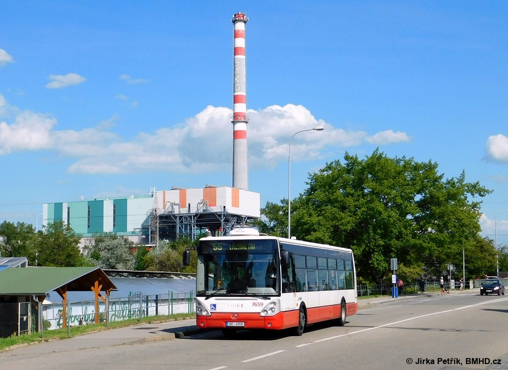 Fotogalerie » Irisbus Citelis 12M 2BC 4958 7659 | Brno | Juliánov | Bělohorská