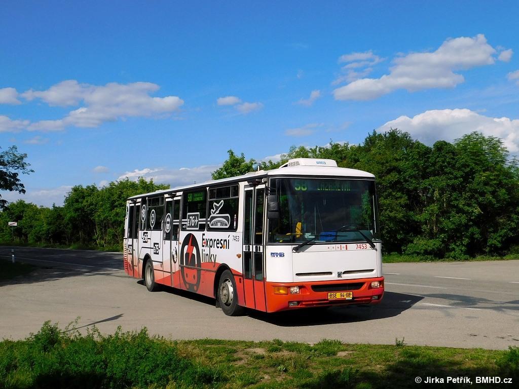 Fotogalerie » Karosa B931E.1707 BSE 94-68 7453 | Brno | Líšeň | Jedovnická