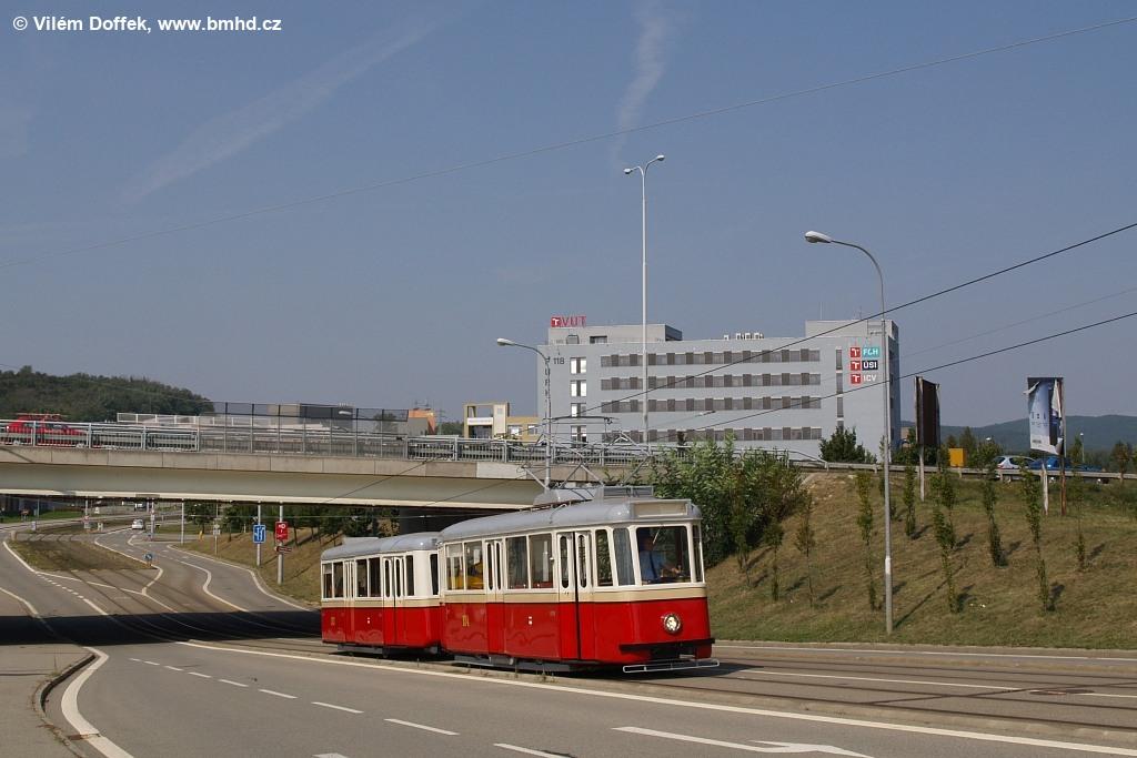 Fotogalerie » KPS Brno 4MT2 134 | KPS Brno vv4 313 | Brno | Královo Pole | Purkyňova