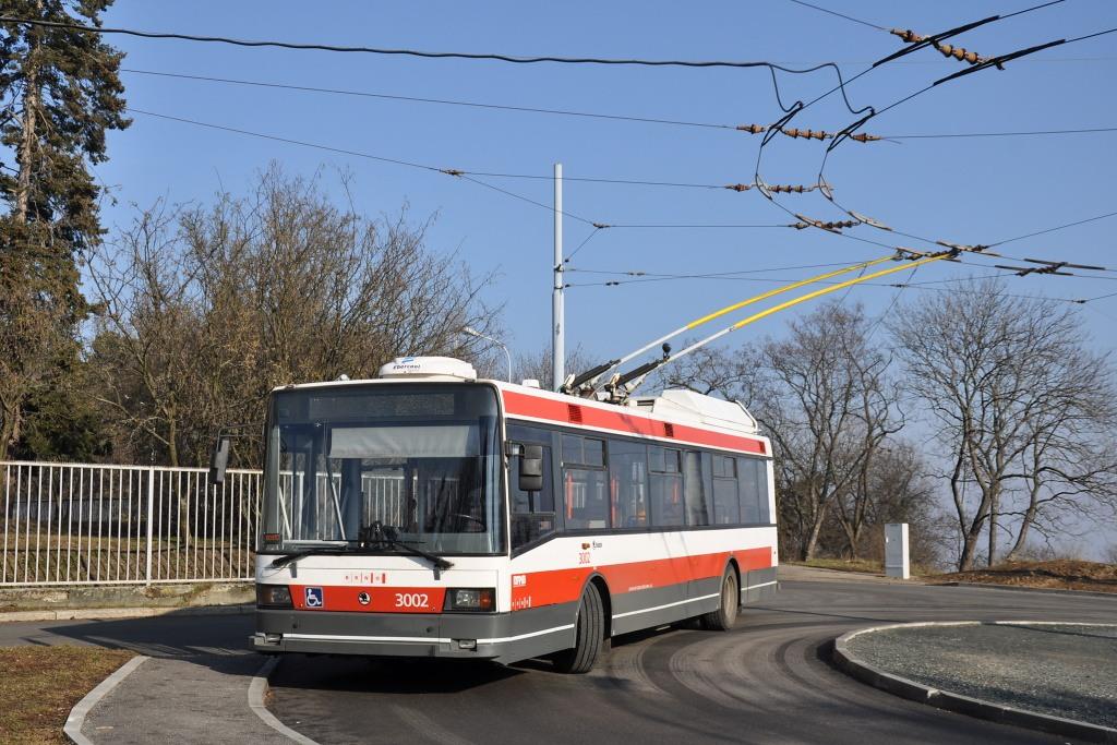 Fotogalerie » Škoda 21Tr 3002 | Brno | Masarykova čtvrť | Barvičova | Barvičova