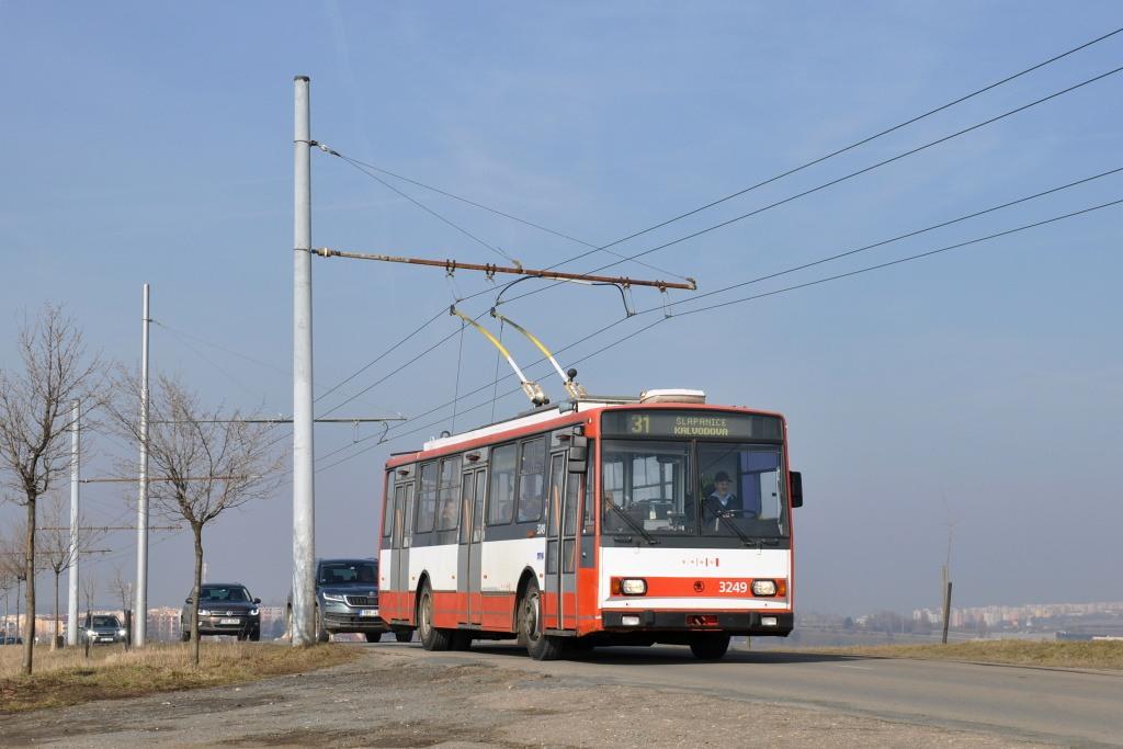 Fotogalerie » Škoda 14TrR 3249 | Šlapanice | Brněnská | Hraničky