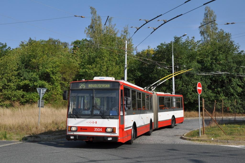 Fotogalerie » Škoda 15TrM 3504 | Brno | Kamenný vrch | Petra Křivky | Kamenný Vrch
