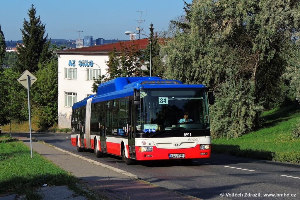 Fotogalerie » SOR NBG 18 4SJ 8164 2723 | Brno | Lesná | Třískalova