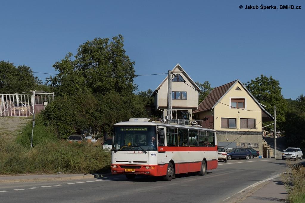 Fotogalerie » Karosa B931E.1707 BSE 94-66 7451 | Brno | Černovice | Vinohradská