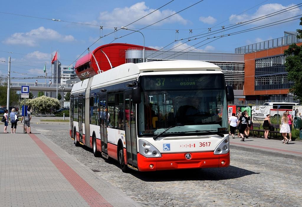 Fotogalerie » Škoda 25Tr Citelis 1B 3617 | Brno | Bohunice | Netroufalky | Bohunice nemocnice