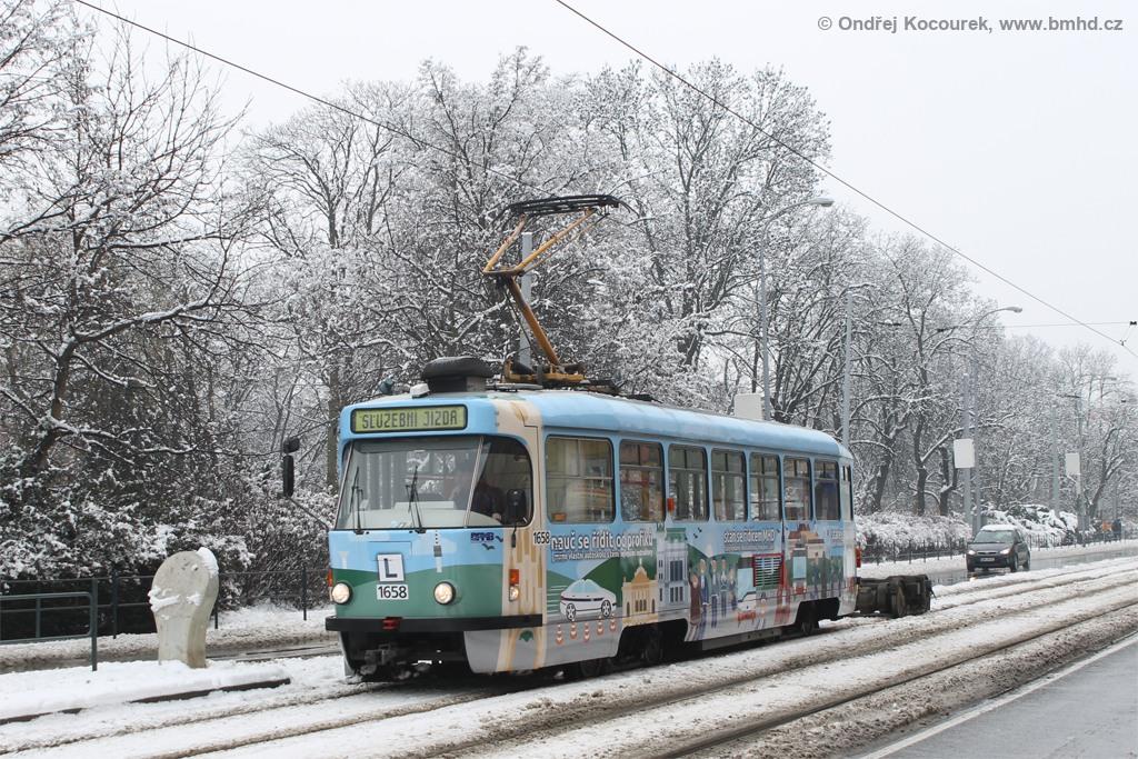 Fotogalerie » Pragoimex T3R.PV 1658 | Brno | střed | Lidická | Pionýrská