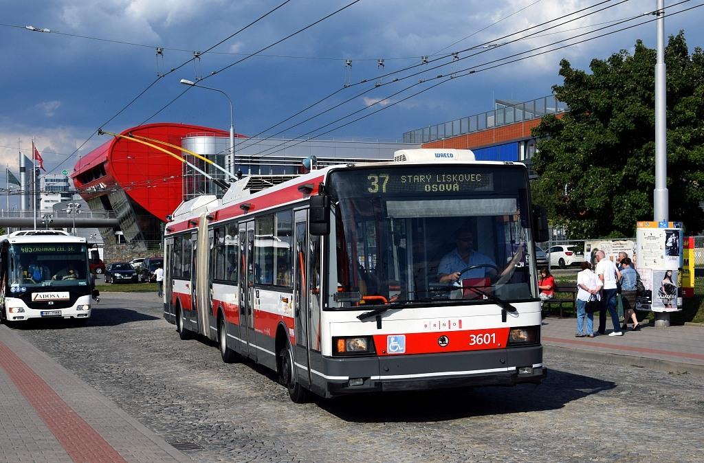 Fotogalerie » Škoda 22Tr 3601 | Brno | Bohunice | Netroufalky | Nemocnice Bohunice