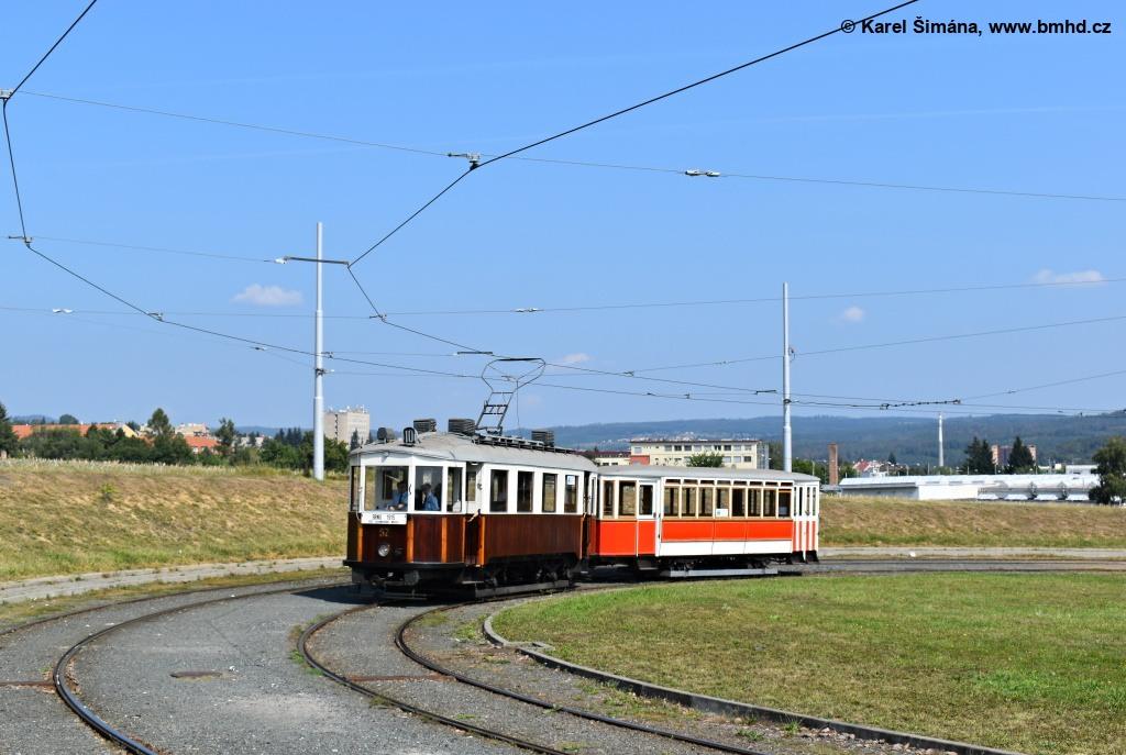 Fotogalerie » Vagónka Studénka CMg 57 | Vagónka Studénka m 205 | Brno | Medlánky | Purkyňova | Technologický park, smyčka