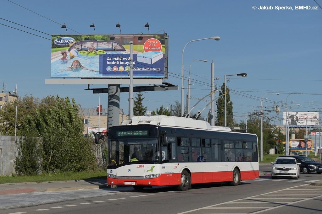Fotogalerie » Škoda 26Tr 3304 | Brno | Slatina | Olomoucká | Černovičky