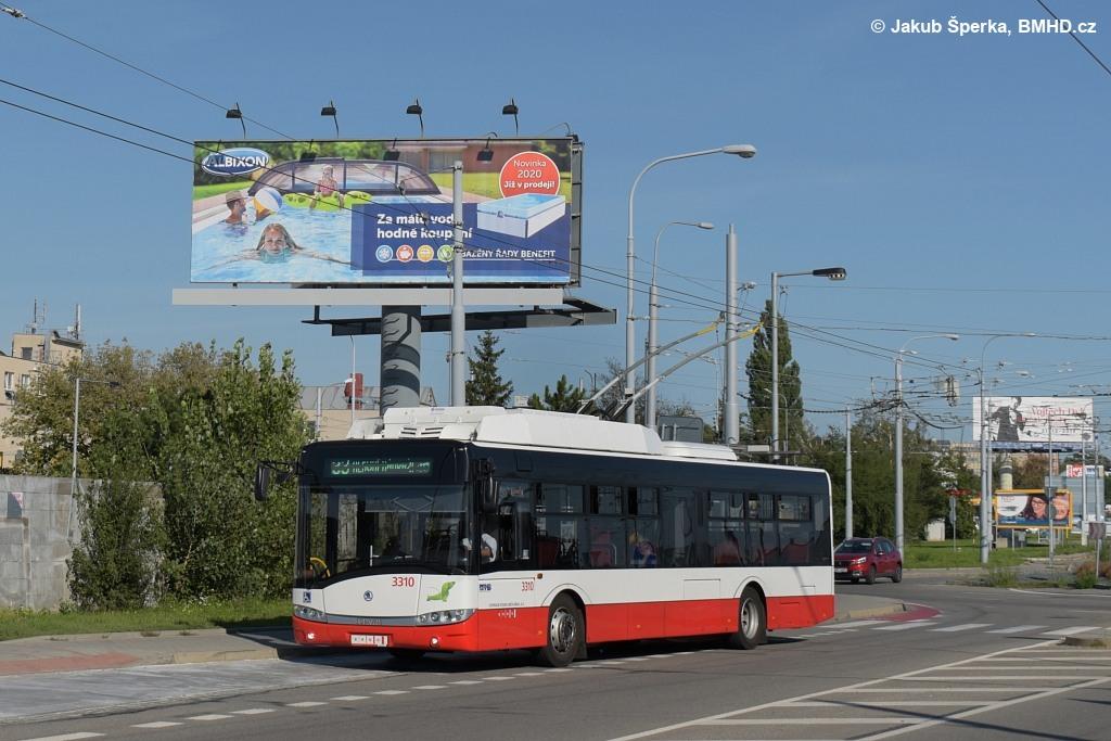 Fotogalerie » Škoda 26Tr 3310 | Brno | Slatina | Olomoucká | Černovičky