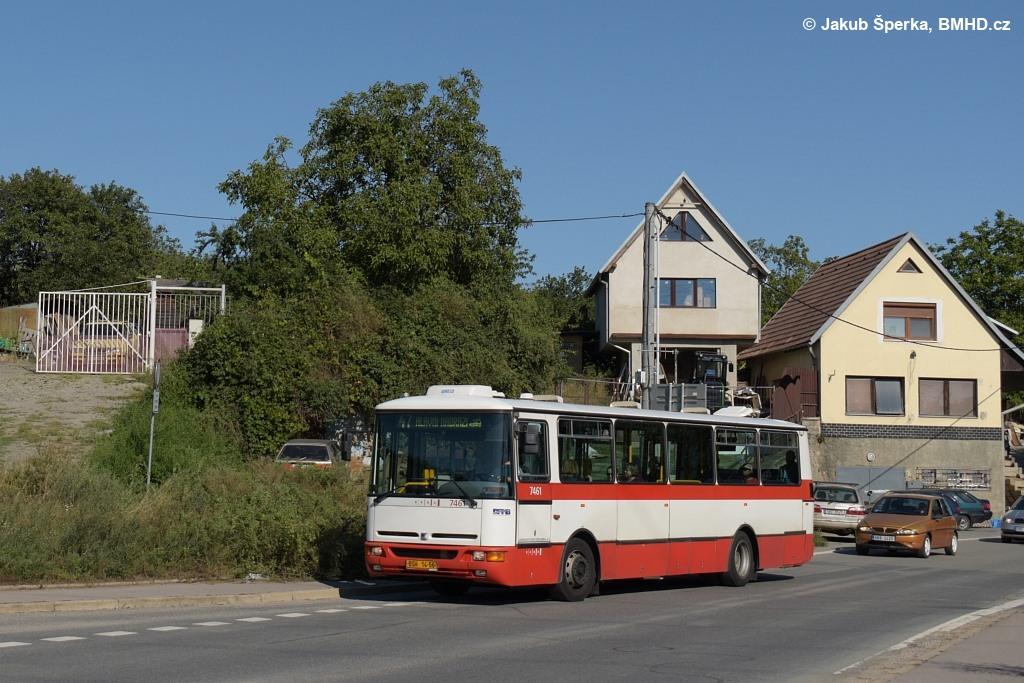 Fotogalerie » Karosa B931E.1707 BSH 14-56 7461 | Brno | Černovice | Vinohradská | Hájecká
