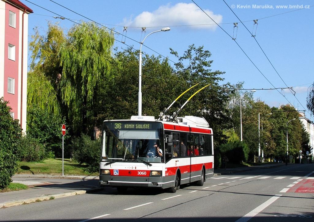 Fotogalerie » Škoda 21Tr 3060 | Brno | Žabovřesky | Zborovská