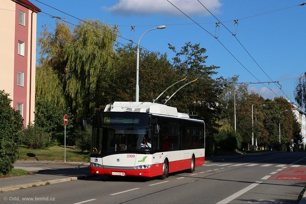 Fotogalerie » Škoda 26Tr 3309   Brno   Žabovřesky   Zborovská