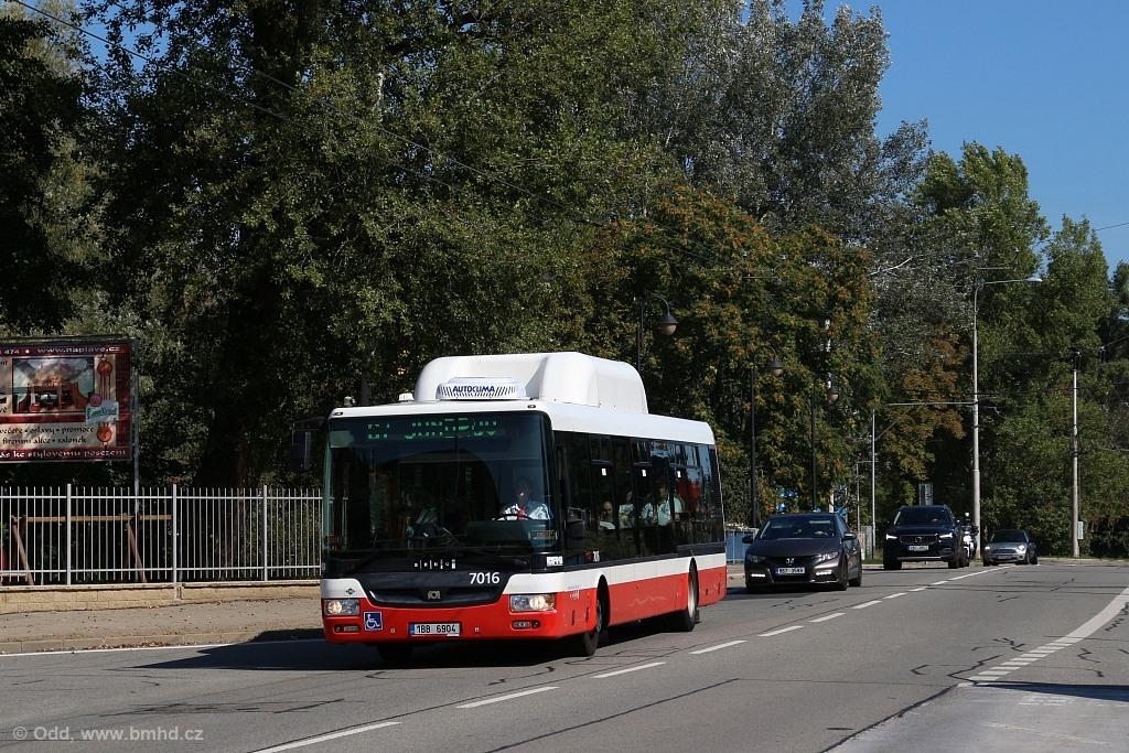 Fotogalerie » SOR NBG 12 1BB 6904 7016 | Brno | Jundrov | Veslařská