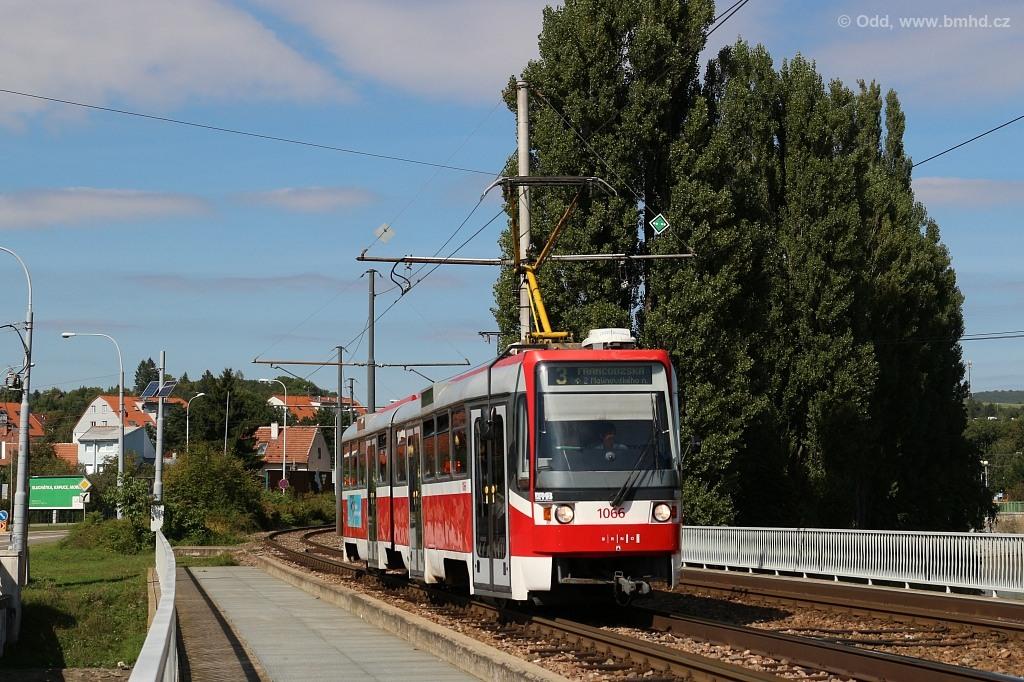 Fotogalerie » ČKD Tatra K2R 1066 | Brno | Bystrc | Kníničská