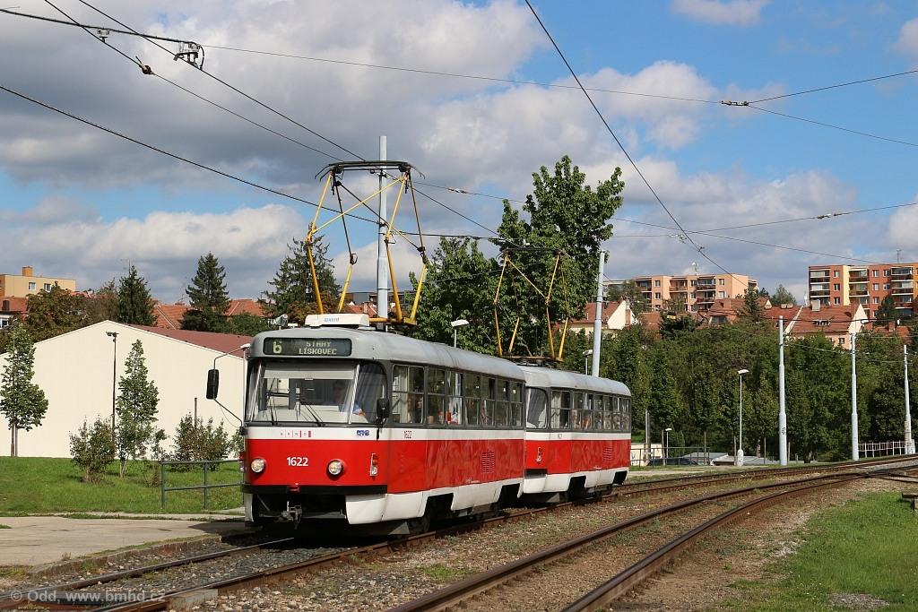 Fotogalerie » ČKD Tatra T3P 1622 | ČKD Tatra T3P 1623 | Brno | Bohunice