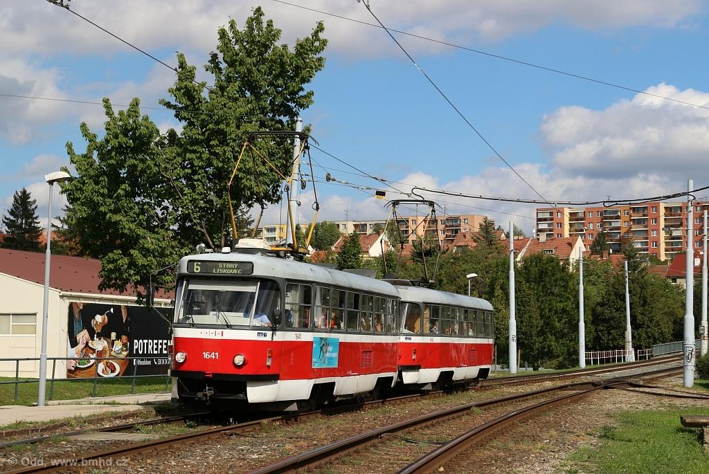 Fotogalerie » ČKD Tatra T3G 1641   ČKD Tatra T3G 1642   Brno   Bohunice