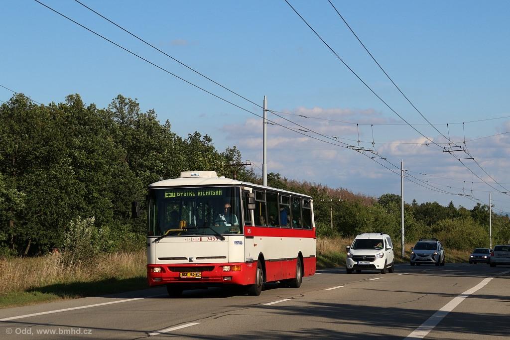 Fotogalerie » Karosa B931E.1707 BSE 94-70 7455 | Brno | Kohoutovice | Libušina třída