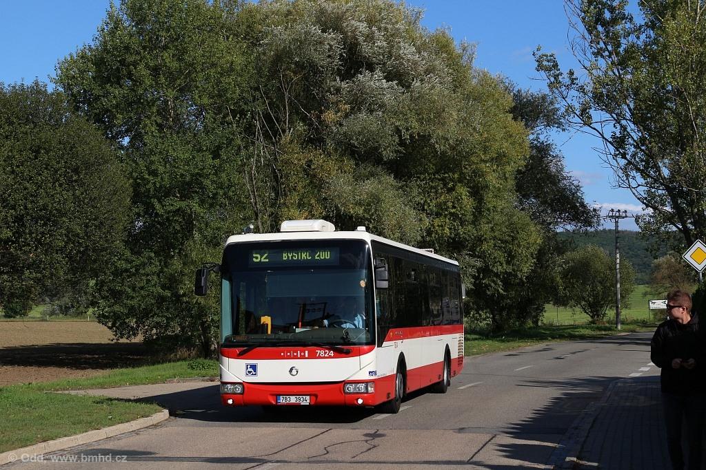 Fotogalerie » Irisbus Crossway LE 12M 7B3 3934 7824 | Brno | Žebětín | Kohoutovická