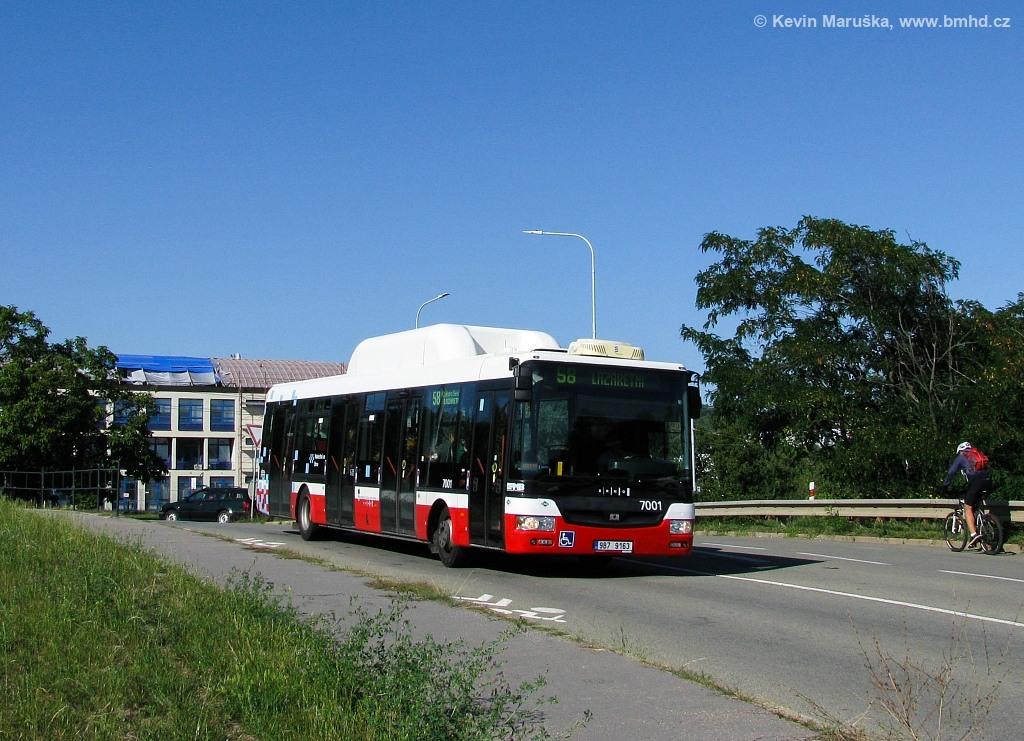 Fotogalerie » SOR NBG 12 9B7 9163 7001   Brno   Vinohrady   Křtinská