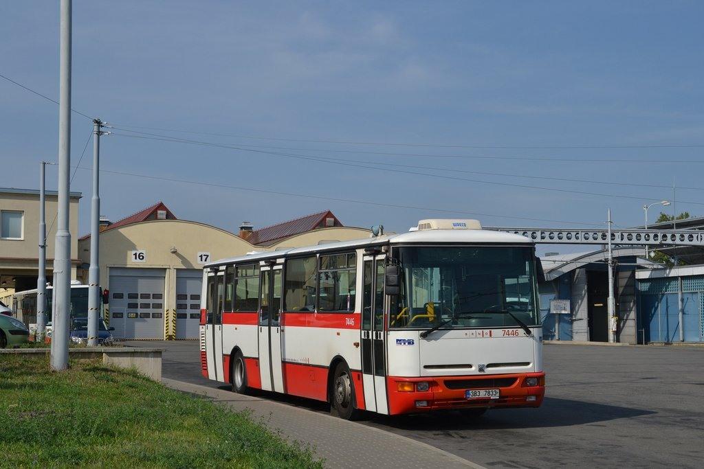 Fotogalerie » Karosa B931E.1707 3B3 7833 7446 | Brno | vozovna Medlánky