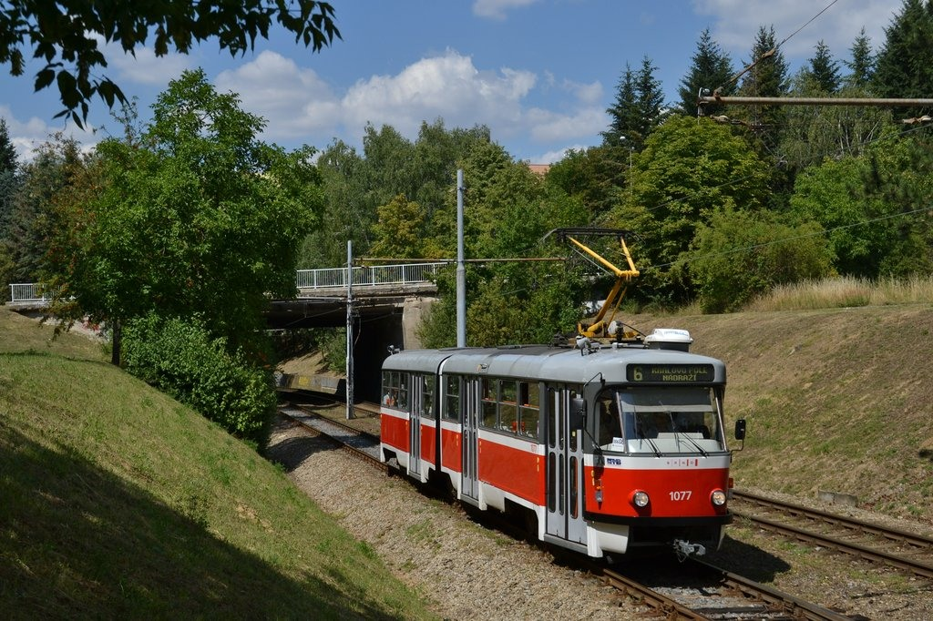 Fotogalerie » ČKD Tatra K2P 1077   Brno   Bohunice