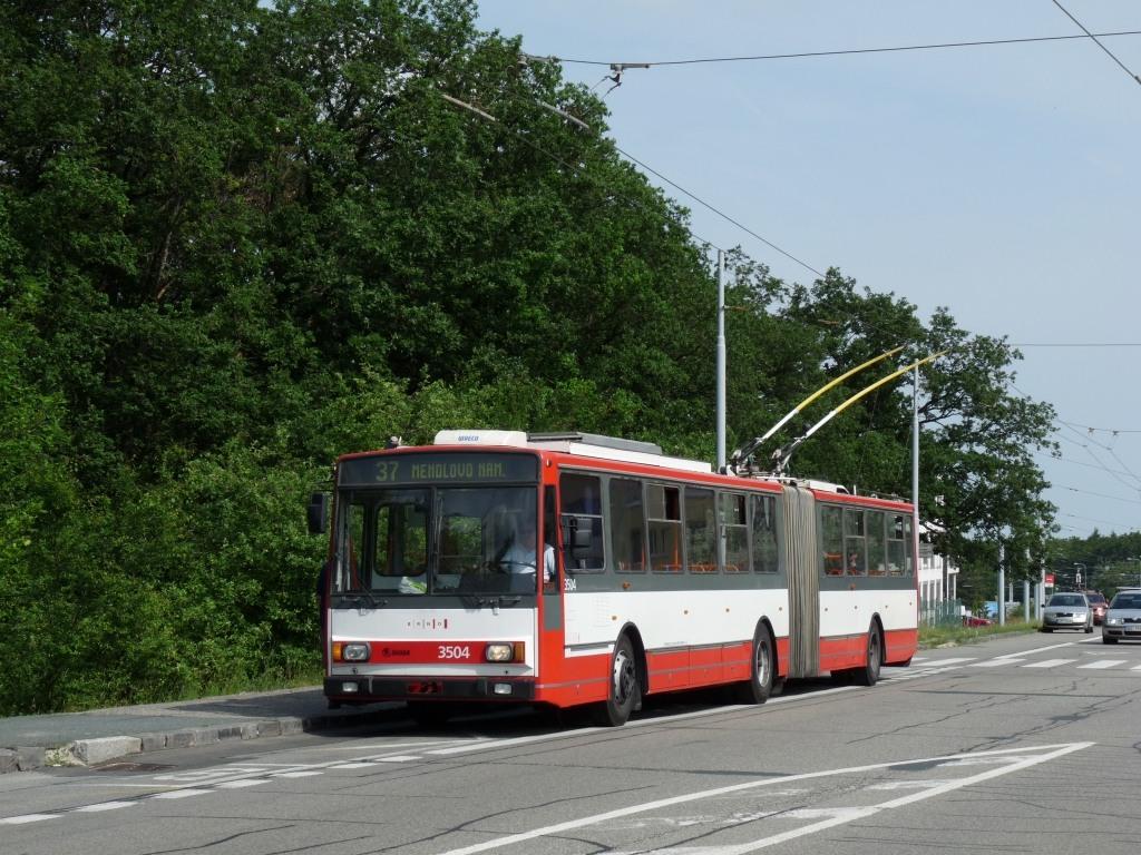 Fotogalerie » Škoda 15TrM 3504 | Brno | Kohoutovice | Libušina třída | Pavlovská