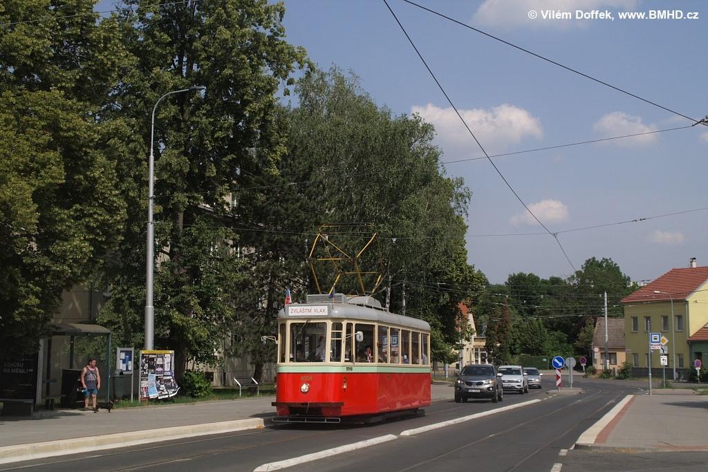 Fotogalerie » SBEPD 4MT4 4058 | Brno | Maloměřice | Dolnopolní | Maloměřický most