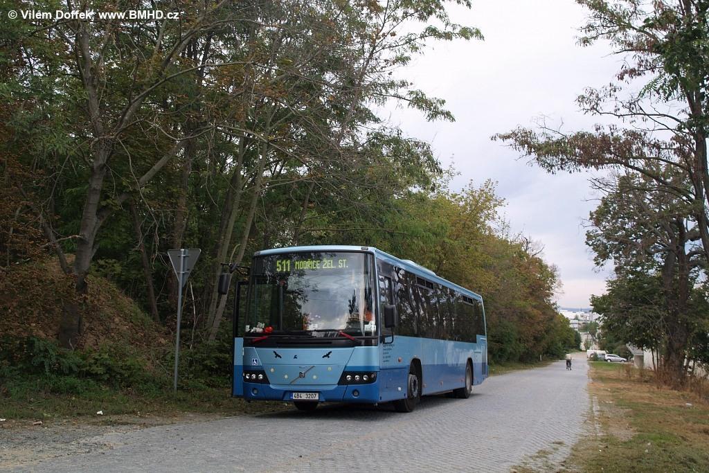 Fotogalerie » Volvo 8700 LE 4B4 3207 | Modřice | Bobrava | Evropská