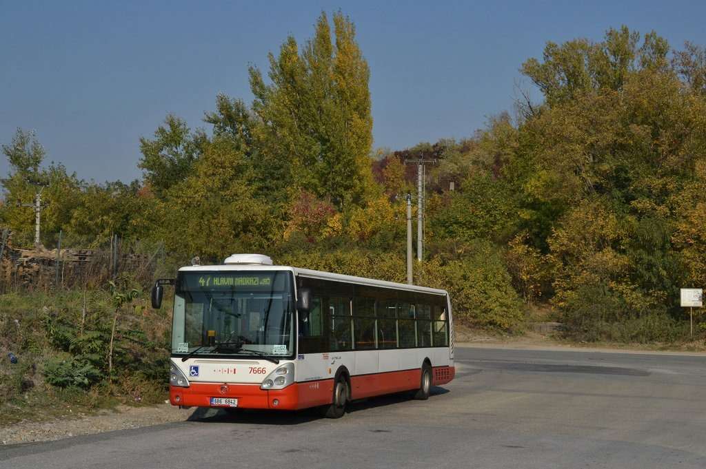 Fotogalerie » Irisbus Citelis 12M 6B6 6842 7666 | Brno | Černovice | Vinohradská | Staré Černovice