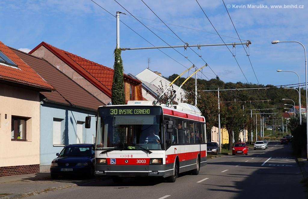 Fotogalerie » Škoda 21Tr 3003 | Brno | Komín | Hlavní