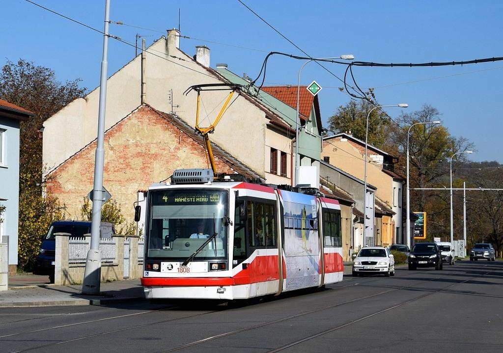 Fotogalerie » Škoda 03T6 1808 | Brno | Maloměřice | Obřanská
