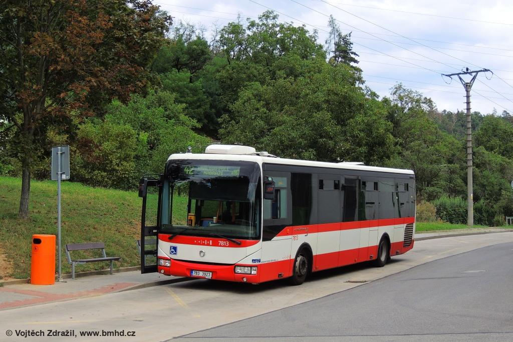 Fotogalerie » Irisbus Crossway LE 12M 7B3 3923 7813 | Brno | Ivanovice | Ivanovice, Globus