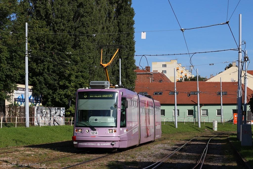Fotogalerie » Škoda 03T6 1814   Brno   Štýřice   Vídeňská