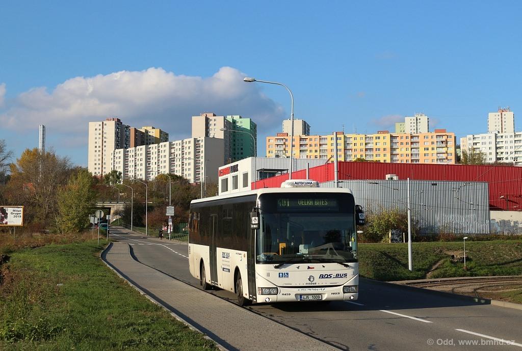 Fotogalerie » Irisbus Crossway LE 12M 4J5 1009   Brno   Starý Lískovec   Jemelkova