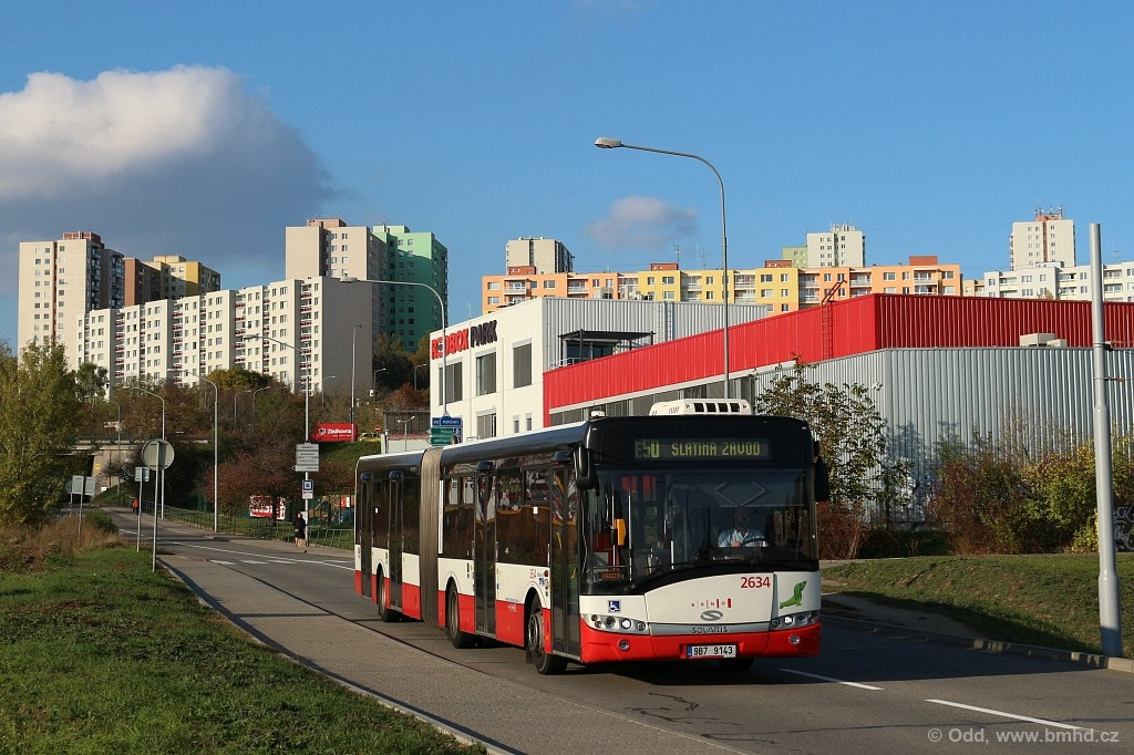 Fotogalerie » Solaris Urbino 18 III 9B7 9143 2634 | Brno | Starý Lískovec | Jemelkova