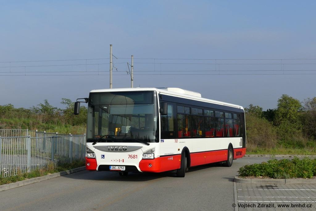 Fotogalerie » Iveco Urbanway 12M 2BC 9752 7681 | Šlapanice | Evropská