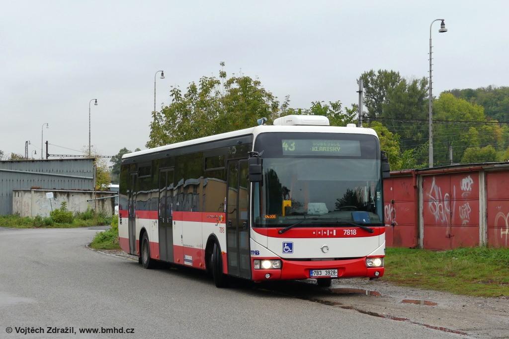Fotogalerie » Irisbus Crossway LE 12M 7B3 3928 7818   Brno   Královo Pole