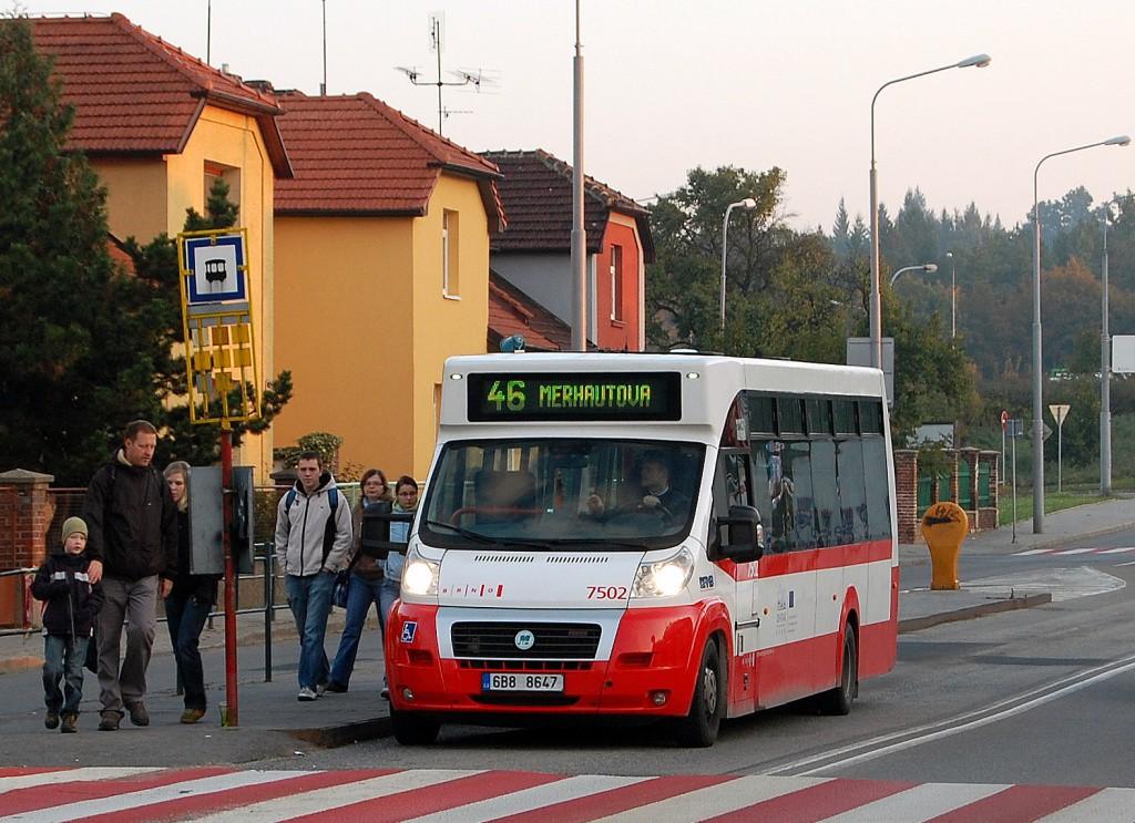 Fotogalerie » MAVE-Fiat CiBus ENA MAXI 6B8 8647 7502 | Brno | Černá Pole | Merhautova | Štefánikova čtvrť