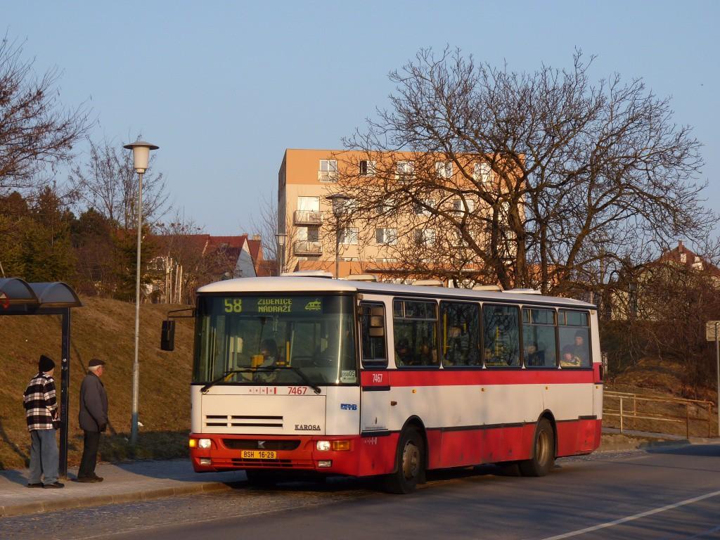 Fotogalerie » Karosa B931E.1707 BSH 16-29 7467 | Brno | Líšeň | Trnkova | Zaoralova