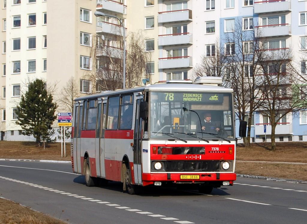 Fotogalerie » Karosa B732.1654.3 BSC 38-66 7378 | Brno | Líšeň | Podruhova