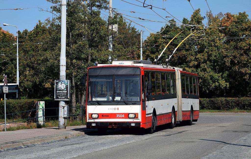 Fotogalerie » Škoda 15TrM 3504   Brno   Židenice   Stará Osada