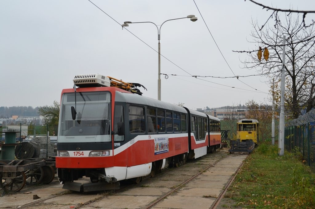Fotogalerie » Pars Nova K3R-N 1754 | Brno | vozovna Medlánky