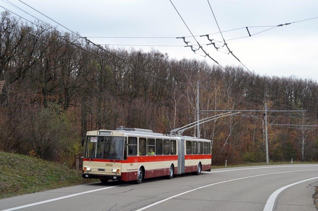 Fotogalerie » Škoda 15Tr02 3502 | Brno | Kohoutovice | Chironova