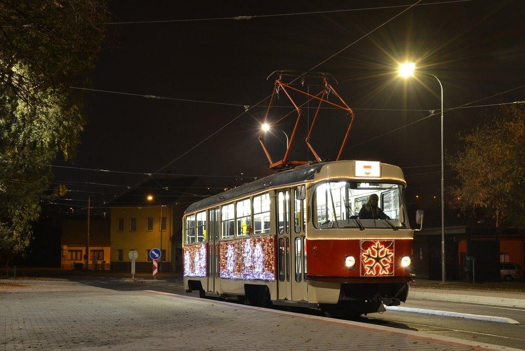 Fotogalerie » ČKD Tatra T3 1525 | Brno | Maloměřice | Dolnopolní | Maloměřický most